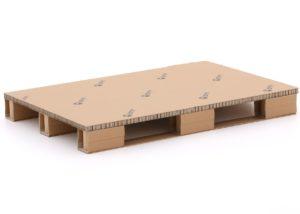 800x1200 kartonnen stelling pallet 4-weg
