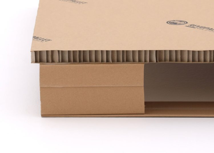 1000x1200 kartonnen stellingpallet