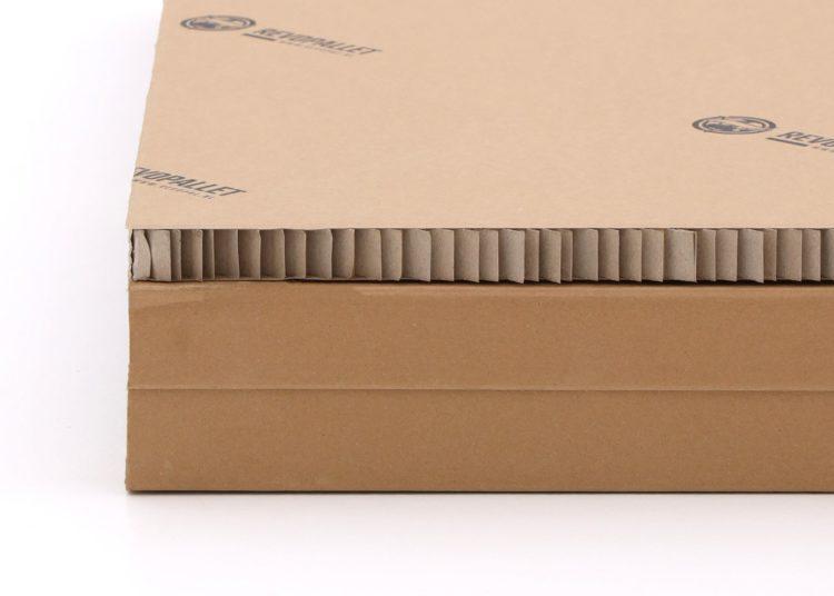 1200x1200 kartonnen stelling pallet 2-weg