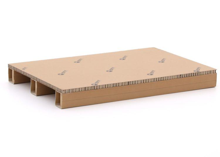 800x1200 kartonnen stelling pallet 2-weg